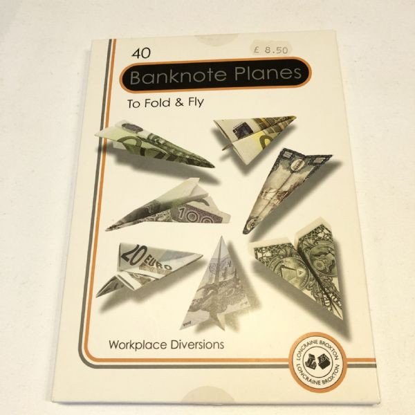 40 Banknote Planes to Fold & Fly